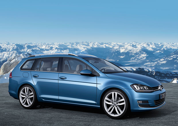Volkswagen Golf Variant: Větší zavazadelník a nižší hmotnost
