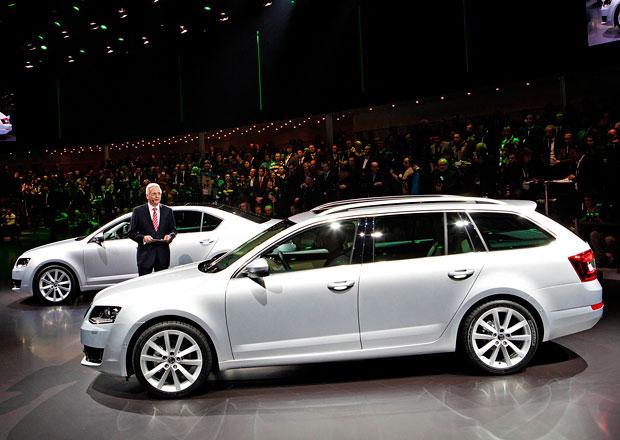 Škoda Octavia Combi: V Česku od 364.900 Kč, prodej od dubna (+video)