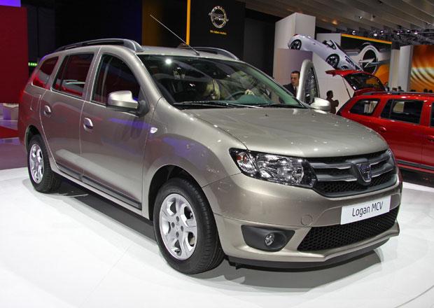 Dacia Logan MCV nabídne posádce velký kufr (573 až 1518 litrů), je však jen pětimístná