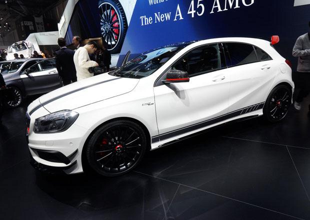 Mercedes-Benz A 45 AMG: Hot-hatch z Affalterbachu představil v Ženevě Usher