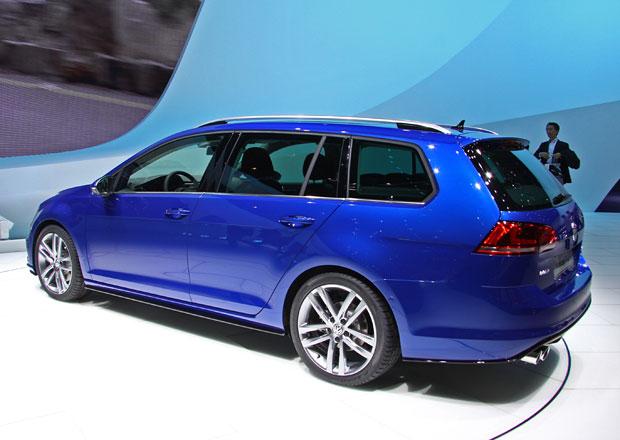 První statické dojmy: Volkswagen Golf Variant nabízí objem zavazadelníku 605 litrů