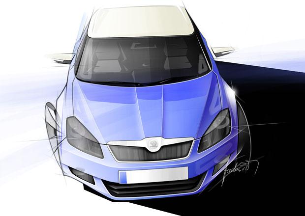 Škoda Fabia III: Premiéra v říjnu na autosalonu v Paříži, sedan prý bude