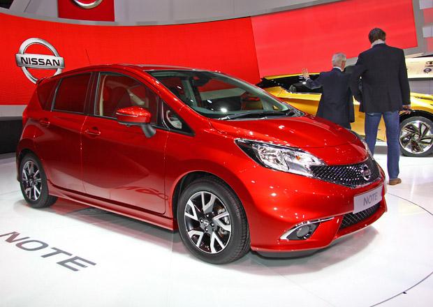 První statické dojmy: Nissan Note láká v druhé generaci na líbivější vzhled