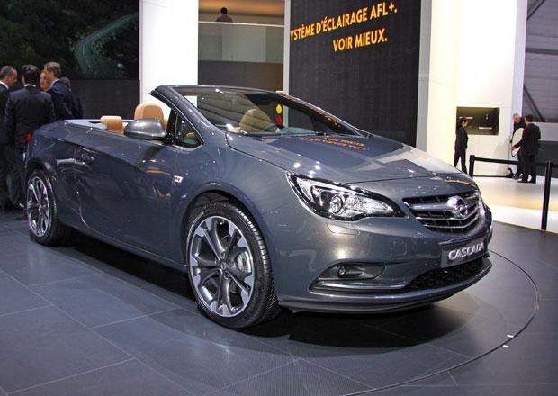 První statické dojmy: Kabriolet Opel Cascada má v hledáčku střední třídu