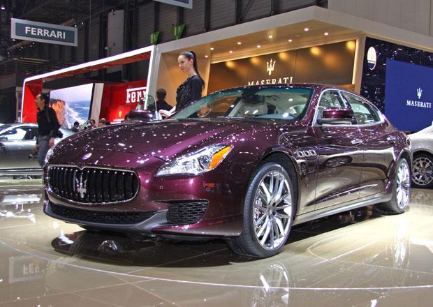 První statické dojmy: Nové Quattroporte je největší Maserati všech dob (+video)