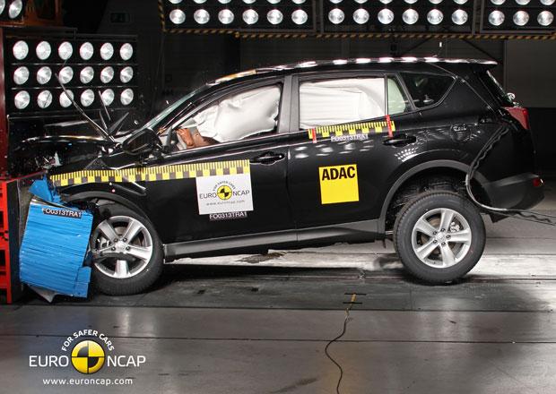 Euro NCAP 2013: Toyota RAV4 – Pět hvězd i přes nedostatečně nafouklý airbag