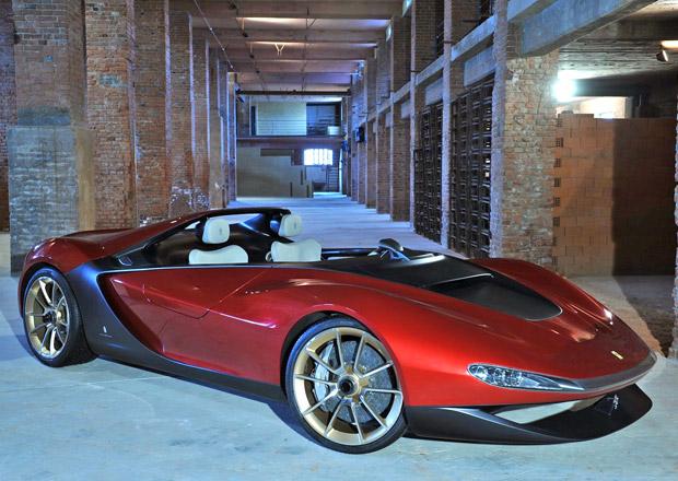 Pininfarina Ferrari Sergio využívá techniku roadsteru 458 Spider