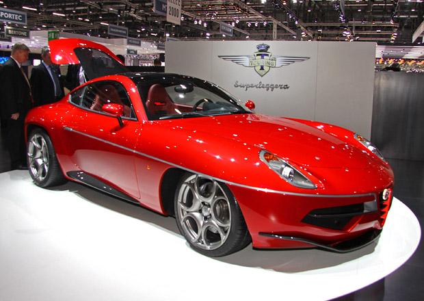 Carrozzeria Touring Superleggera Disco Volante: Z nehybn�ho modelu produk�n� sportovec