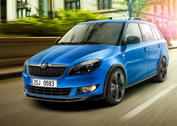 Škoda Fabia Combi Monte Carlo a Roomster Noire: Nové akční modely nastupují