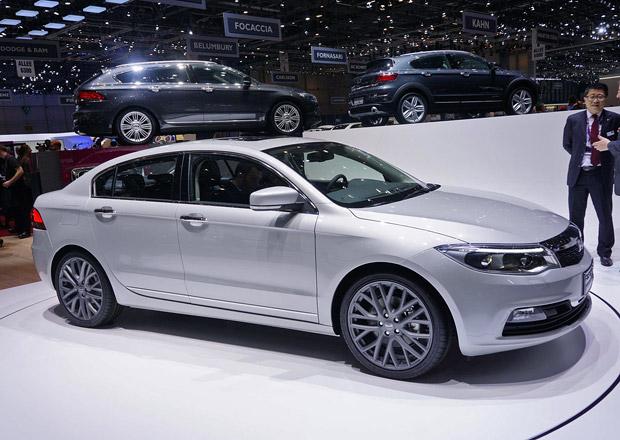 Qoros 3 Sedan: Technick� data ��nsk�ho p�ekvapen�