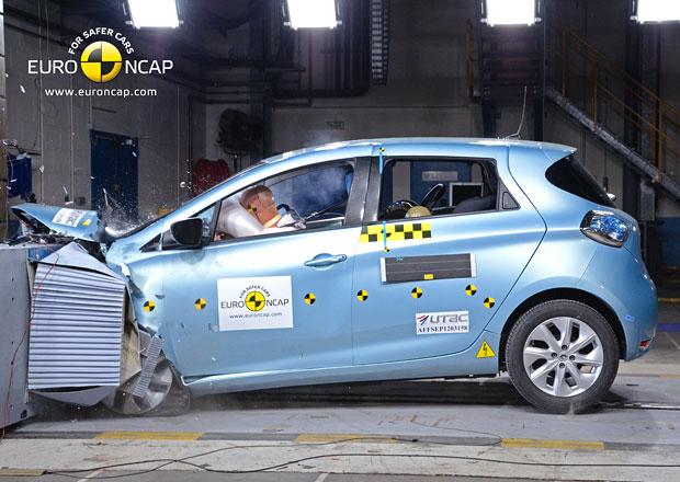 Euro NCAP 2013: Renault Zoe � Elektromobil s pln�m po�tem hv�zd