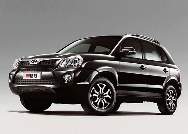 Hyundai Tucson první generace navštívil kosmetický salón. V Číně.