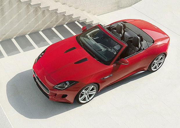 Jaguar F-Type stojí 1,9 milionu, nabídne pestrou individualizaci