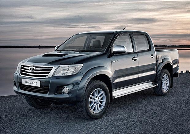 Nejprodávanějším vozem na nejvíce trzích byla loni Toyota Hilux