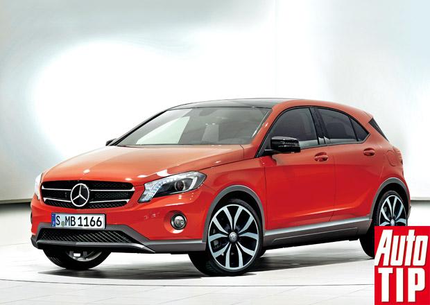 Nové modely Mercedesu: Do pěti let vznikne třída X