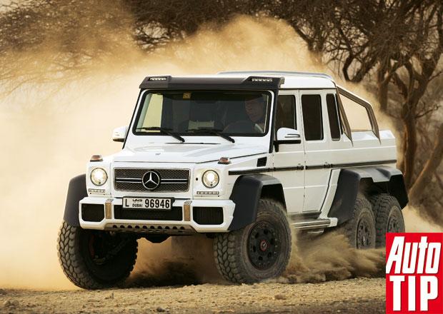 Mercedes-Benz G 63 AMG 6x6: Šestikolka pro šejky