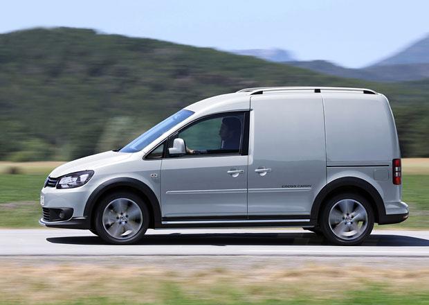 Volkswagen Cross Caddy v osobním i užitkovém provedení