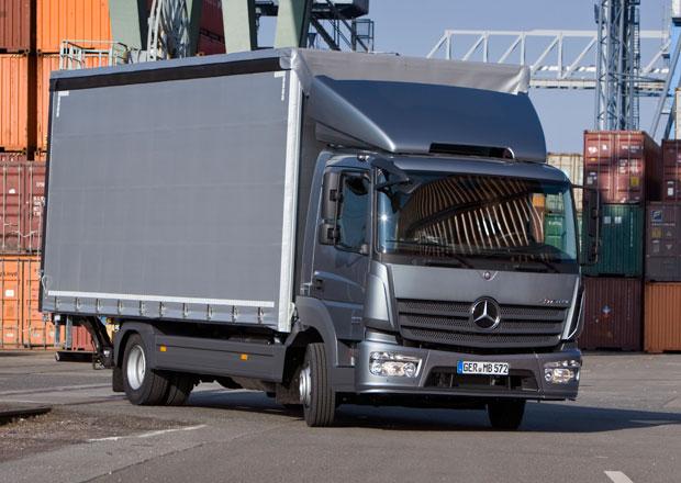 Mercedes-Benz Atego Euro VI s novou technikou i designem