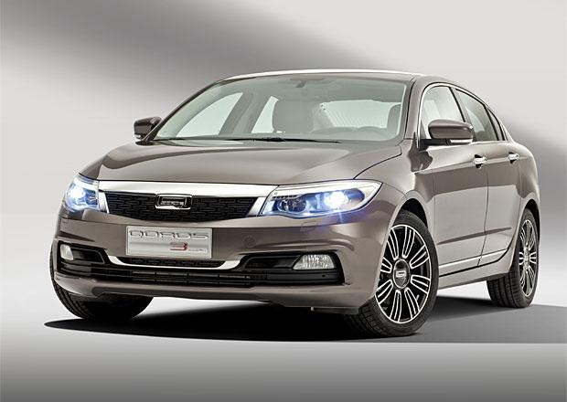 Čínský sedan Qoros 3 bude v Evropě stát v přepočtu 410.000 Kč