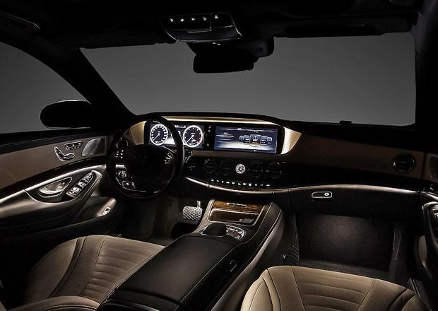 Interiér nového Mercedes-Benzu S (W222) na prvních fotografiích