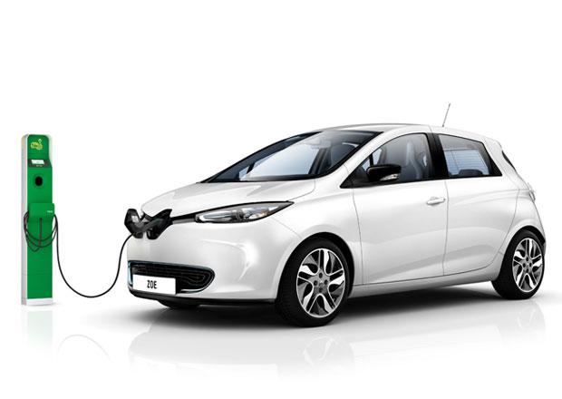 Renault nab�z� zdarma k elektromobilu Zoe dom�c� dob�jec� stanici
