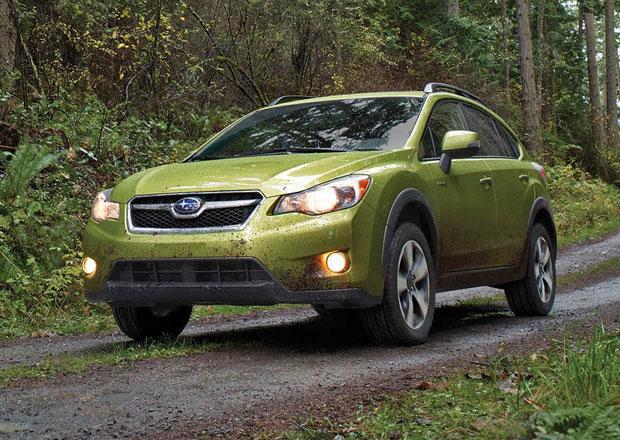 Subaru v New Yorku: První hybrid a nový sporťák