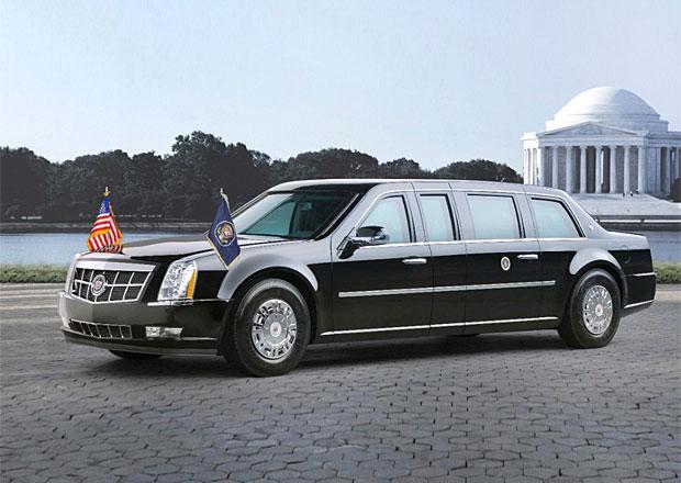 Obamova limuzína se rozbila, nalili do ní benzin místo nafty