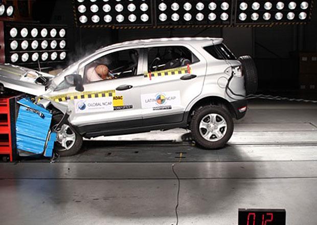Ford EcoSport obdržel v latinskoamerickém crash-testu čtyři hvězdy