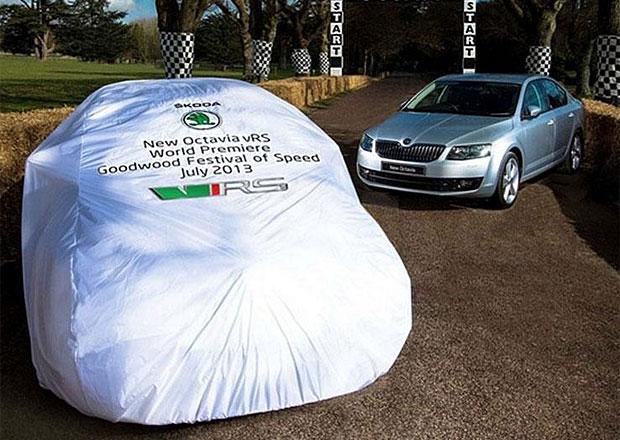 Škoda Octavia RS si odbude světovou premiéru 11. července
