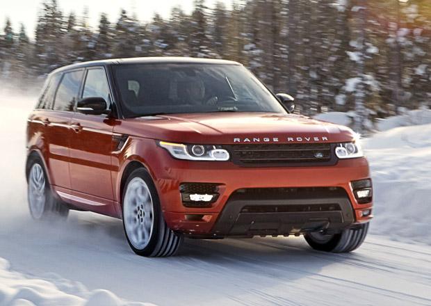 Range Rover Sport 2014: Hliníková karoserie a interiér pro sedm