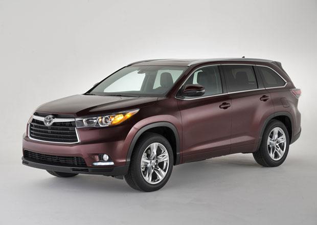Toyota Highlander 2014: Nový horal s předkusem