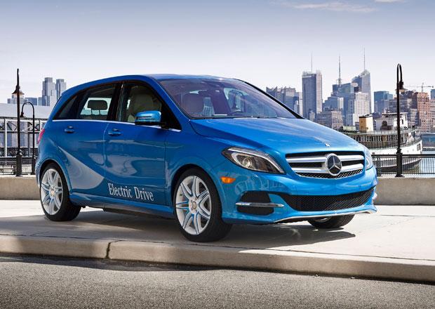 Mercedes-Benz B Electric Drive: pro Ameriku pouze jako elektromobil