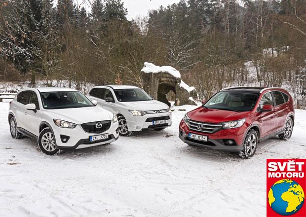 Honda CR-V vs. Mazda CX-5 vs. Mitsubishi Outlander