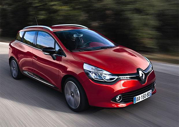 Renault Clio Grandtour je o 16.000 korun dražší než hatchback