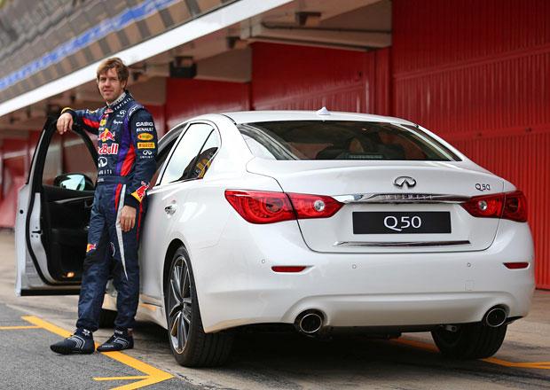 Sebastian Vettel se stal členem vývojového oddělení Infiniti