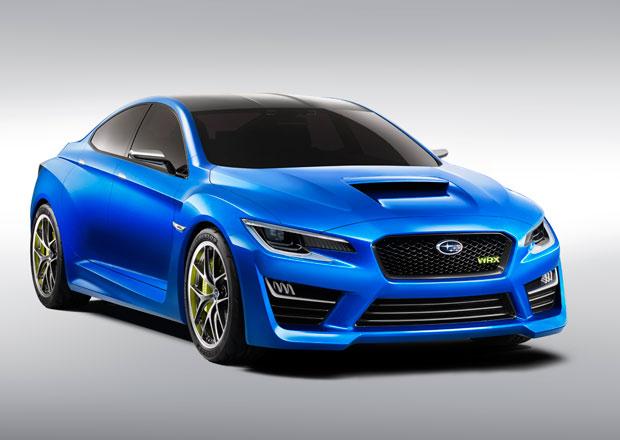 Subaru WRX Concept odhaleno (+video)
