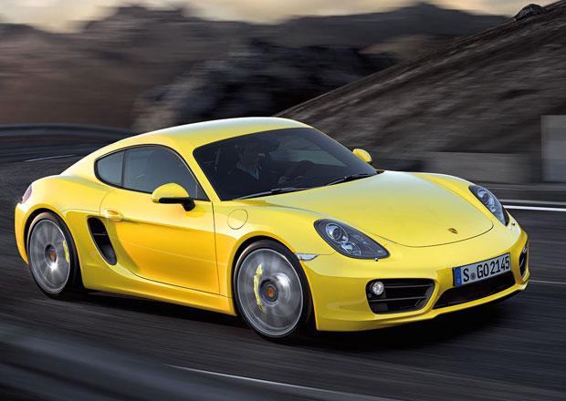 Porsche Cayman se dočká ostřejší verze