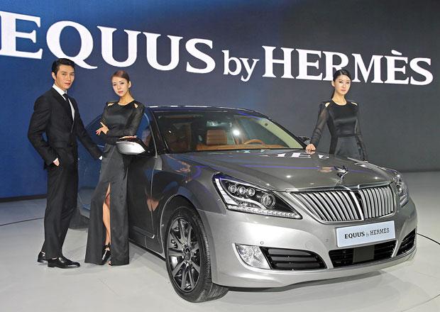 Hyundai Equus: Limuzína by Hermes