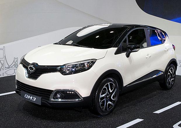 Samsung QM3: Malé SUV Renault Captur ve verzi pro Koreu