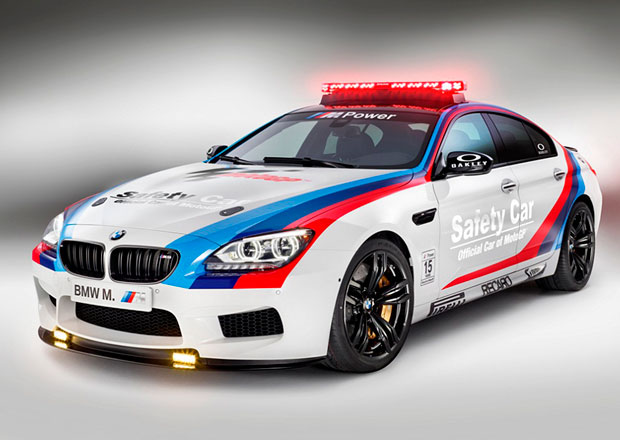 BMW M6 Gran Coupe: Nov� sexy safety car pro MotoGP