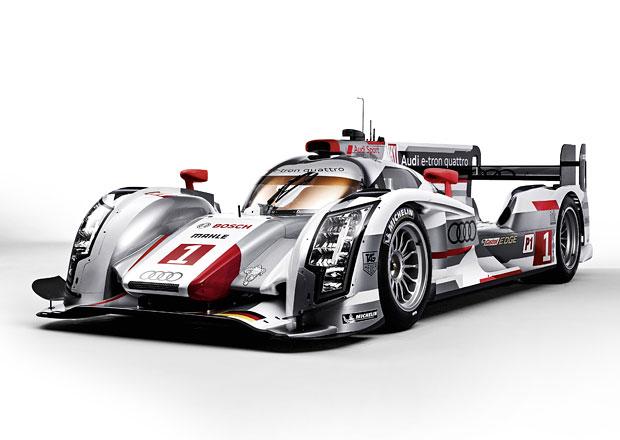 Audi R18 e-tron: Pro sezonu 2013 s menším výkonem