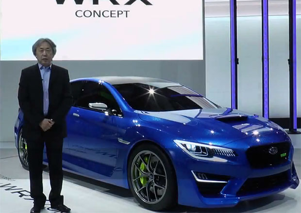 WRX Concept s podrobným komentářem šéfdesignéra Subaru