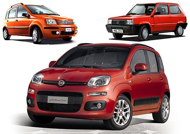 Design po generacích: Fiat Panda – Hranatý medvídek