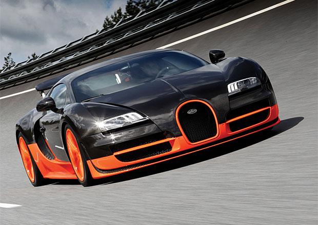 Bugatti Veyron Super Sport: Titul nejrychlejšího auta světa mu byl odebrán