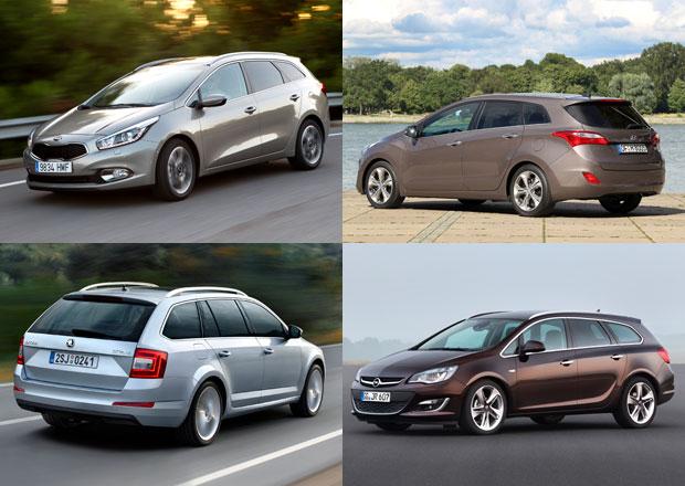 Škoda Octavia Combi vs. konkurence: Co koupit?