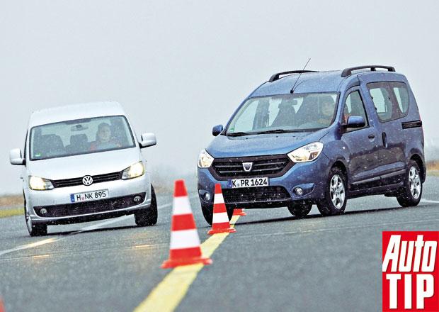 Srovnávací test: Dacia Dokker vs. VW Caddy