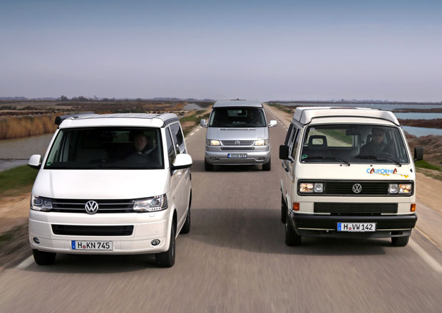 Volkswagen California slaví 25. výročí