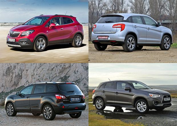 Mitsubishi ASX, Nissan Qashqai a další: Co koupit?