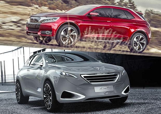 Designový duel: Citroën DS Wild Rubis vs. Peugeot SXC