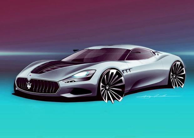 Maserati GranCorsa: Jak by mohl vypadat nejsportovnější Neptunův trojzubec?